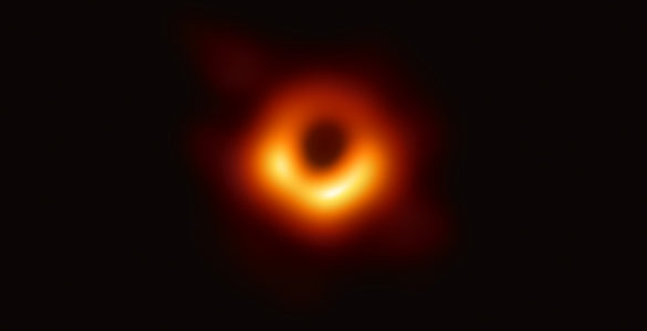 EHT image of event horizon in the central supermassive black hole of M87