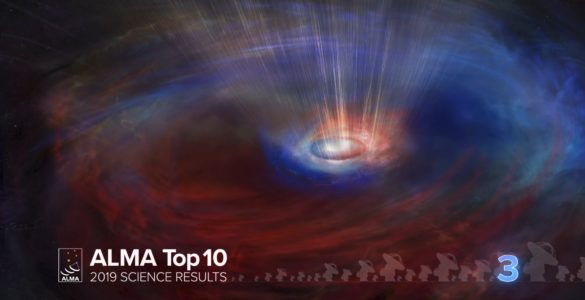 03 – ALMA Top 10: Counter-rotating Gas Flows around a Black Hole