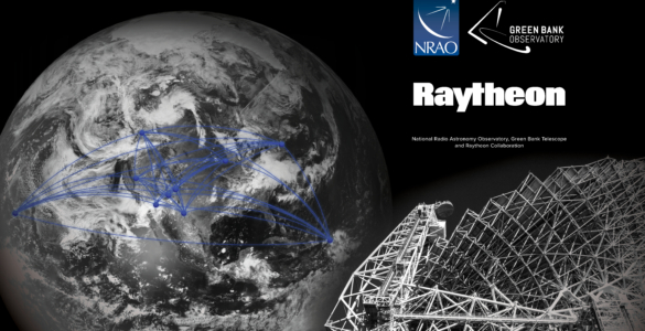Raytheon and the National Science Foundation radio astronomy facilities to detect dusty asteroids in space