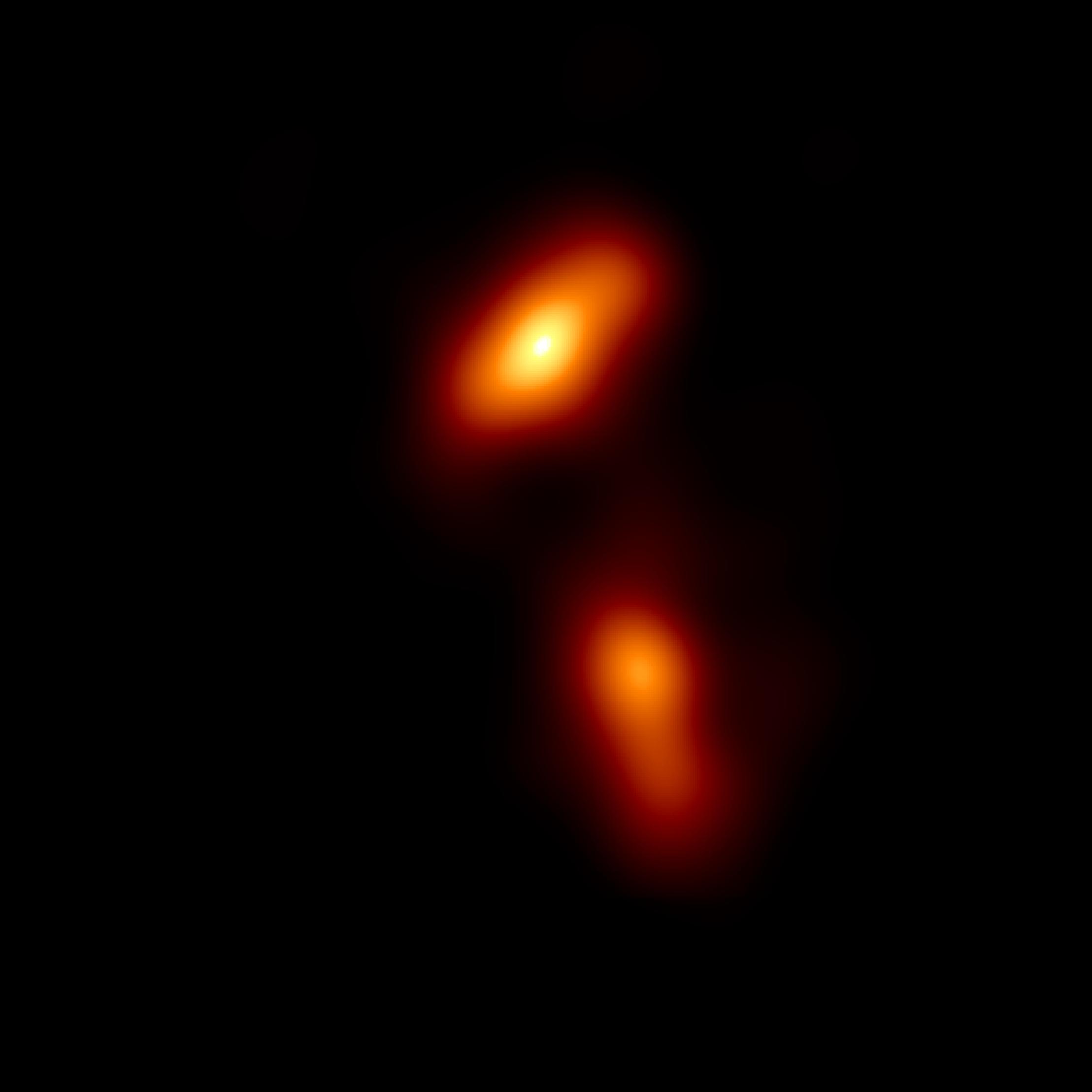 EHT image of quasar 3C 279
