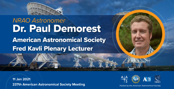 AAS Names NRAO Astronomer as Fred Kavli Plenary Lecturer