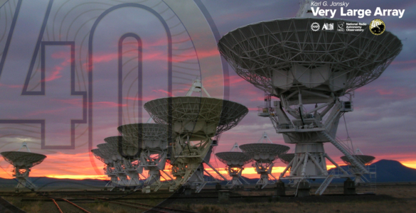 VLA Marks 40 Years at the Frontier of Science