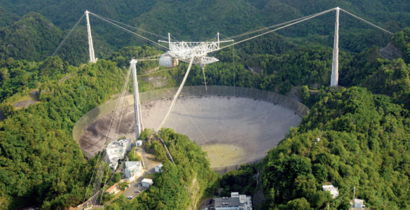 NRAO and GBO Saddened at Loss of Arecibo Telescope