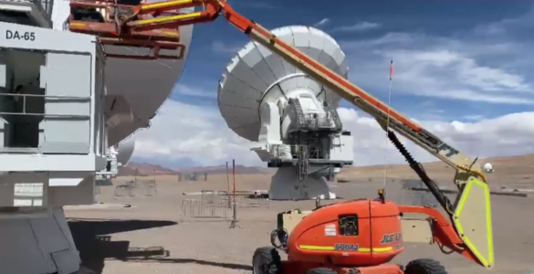 ALMA Takes First Step Toward Return to Service
