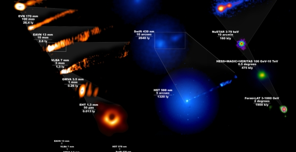 VIDEO: Multi-wavelength Observations Reveal Impact of Black Hole on M87 Galaxy