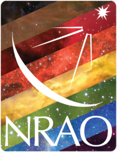 NRAO Pride Philly Logo