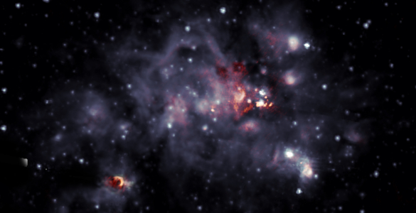 IMAGE RELEASE: New Look at a Bright Stellar Nursery