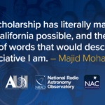 AUI and NRAO Announce NAC Bridge Scholarship Award