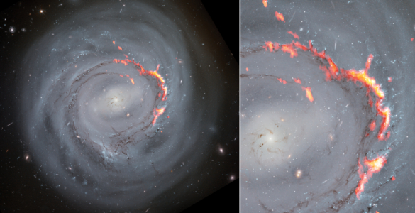 Zooming in on Ram Pressure Stripping in Galaxy NGC4921