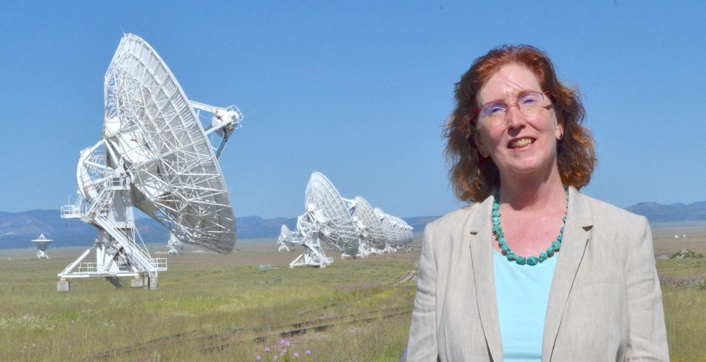 Dr. Patricia (Trish) Henning at the VLA