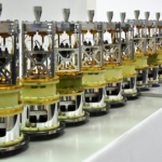A line of cartridges for the Band 1 ALMA receivers