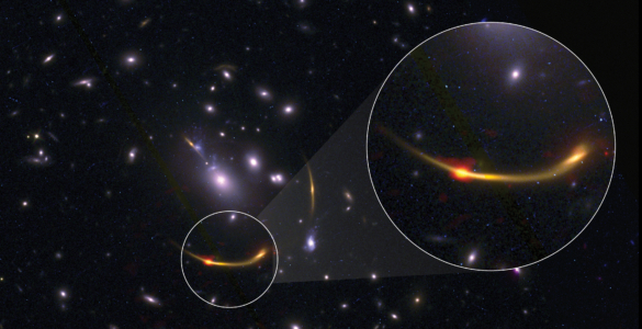 ALMA Scientists Uncover the Mystery of Early Massive Galaxies Running on Empty